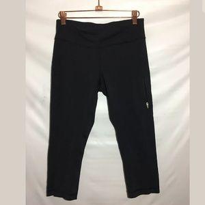 Lululemon Capris Pants Sz 6 Drawstring Waist Zip